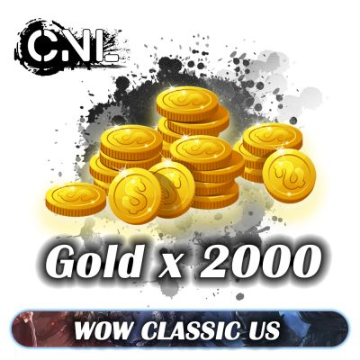 Wow classic US – 2000 Gold Pack